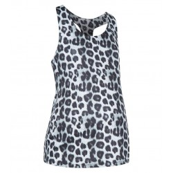 Maternity Grey Leopard Print Sports